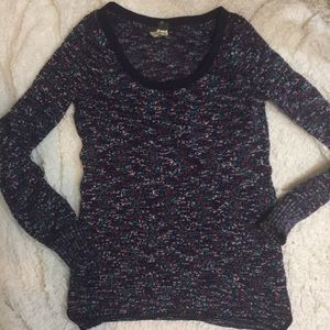 Free People Marled Confetti Pullover Sz S